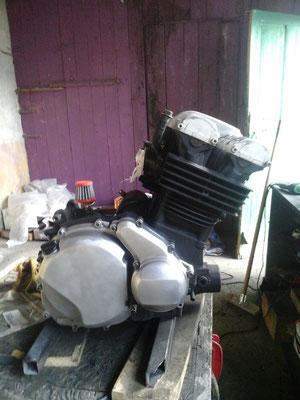 préparation du moteur 2