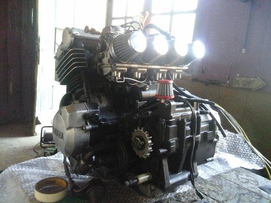 préparation du moteur 5