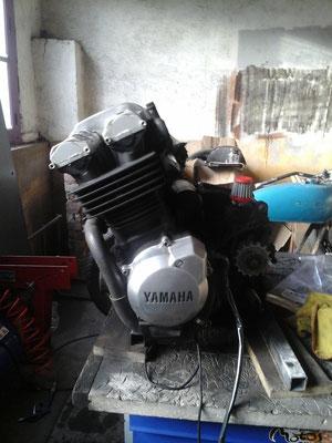 préparation du moteur 3
