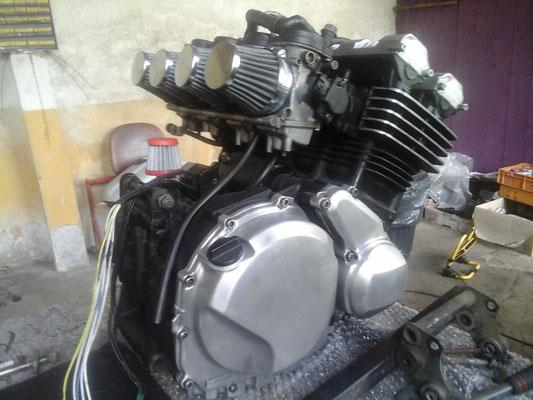 préparation du moteur 6