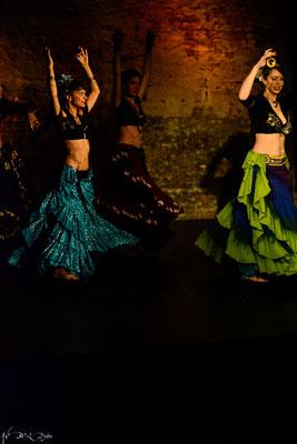 Tribal Fest Leipzig 2016, Nadja Walter, Sil Ke Rella, Anna Engl und Alexandra Immeyer