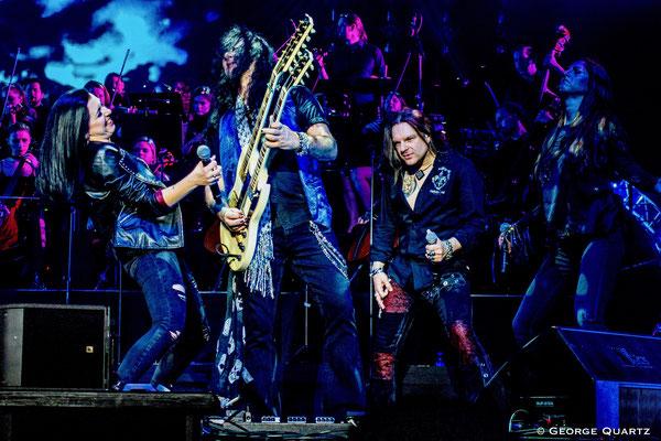 ROCK MEETS CLASSIC, Tour 2020, mit Alice Cooper, Berlin, Mat Sinner Band
