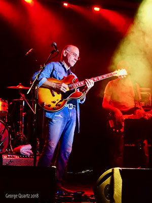 Larry Carlton GIANTS OF ROCK festival 2018, Minehead