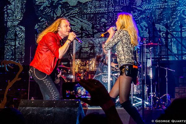 Avantasia, Herbie Langhans and Ina Morgan