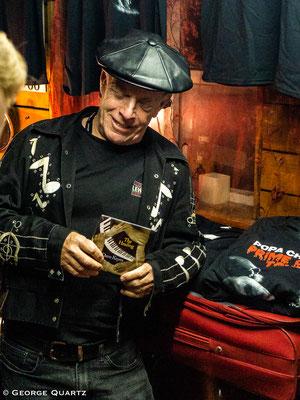 Popa Chubby at Blues Garage, Isernhagen (Hannover) October 2018