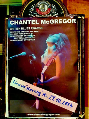 Chantel McGrogor 2014 in Celle