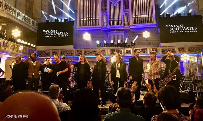 Mandoki's Soulmates 2017 in Berlin