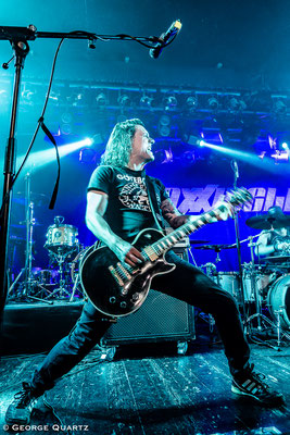 Maxxwell , Metal fropm Switzerland, Aschaffenburg, Colos-Saal, October 2018