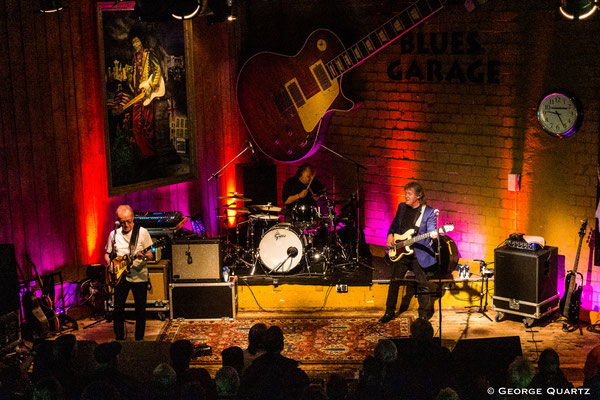 JCM (Mark Clarke, Clem Clempson, Ralph Salmins) in Hannover @ Blues Garage