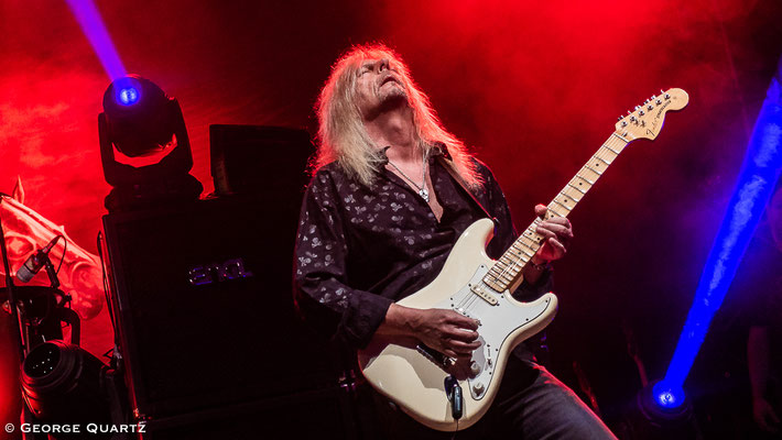 Axel Rudi Pell in Bremen at Aladin, October 2018