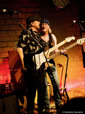 Blues Garage, Hannover (30 October 2019) Pete York's Rock and Blues Circus, Pete York (Spencers Davis Group, Hardin & York), Miller Anderson (Keef Hartley Band),  Zoot Money (Eric Burdon & Animals), Roger Glover (Deep Purple, Rainbow)