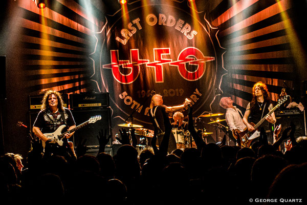 UFO Band, Phil Mogg, 50. Anniversary Tour, Neuruppin, 2019