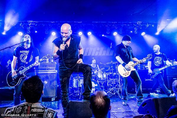 Maxxwell , Metal fropm Switzerland, Aschaffenburg, Colos-Saal, October 2018
