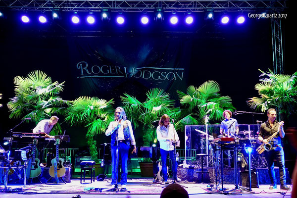 "Roger Hodgson (Supertramp) 2017 - ""Lieder am See"" Festival, Brombachsee"