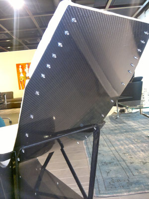 Back View Carbon Fiber Lounge Chair