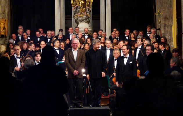 Salut du Requiem de Mozart, Cathédrale de Grasse, déc. 2008