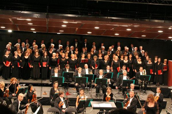 Requiem de Mozart aux Arlucs de Cannes, décembre 2008