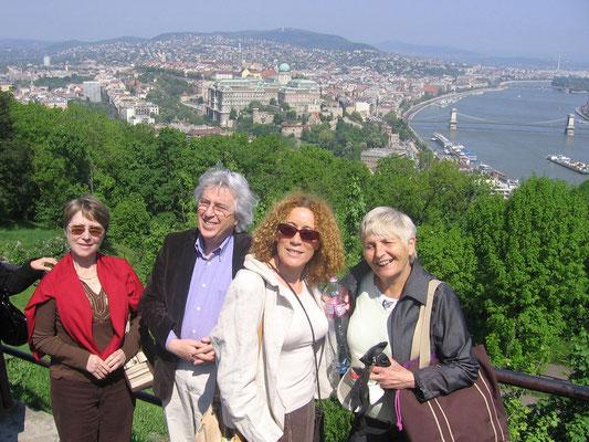 voyage-tournée à Budapest, avril 2009