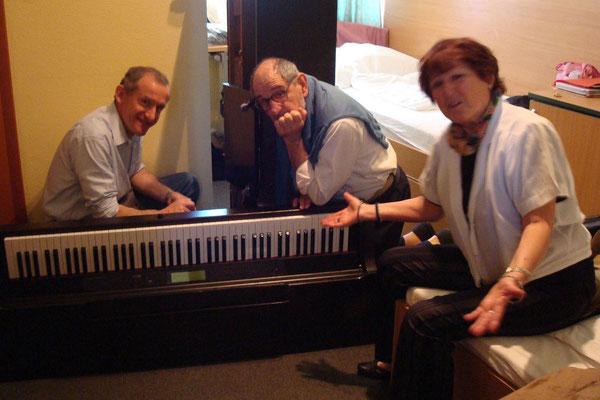 le voyage du piano à Budapest