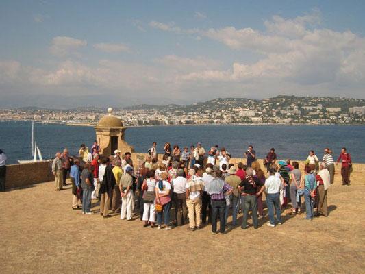 rencontre impromptue avec le choeur de Cannes (EVC)