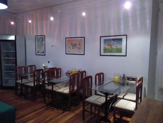 expositions in Santander, hostel Santander