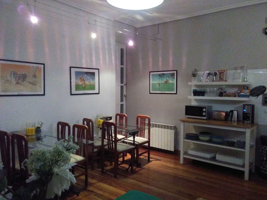 expositions in Santander, hostel Santander