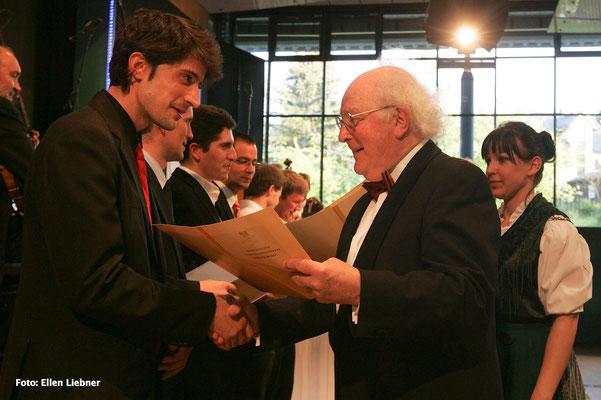 Ruben Dura de Lamo & Prof. Peter Damm © Ellen Lieber