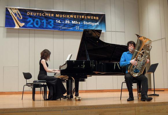 Ruben Dura de Lamo & Maria Leber  © Deutscher Musikwettbewerb/Michael Haring