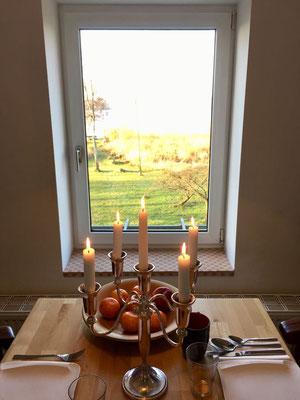 Oder sogar ein selbstgekochtes Candlelight-Dinner.