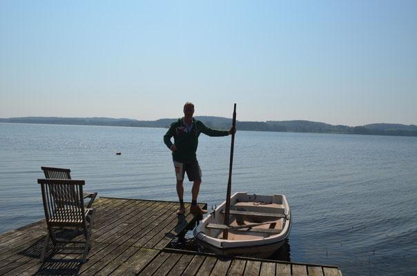 Lieber das Ruderboot oder doch das Kayak?