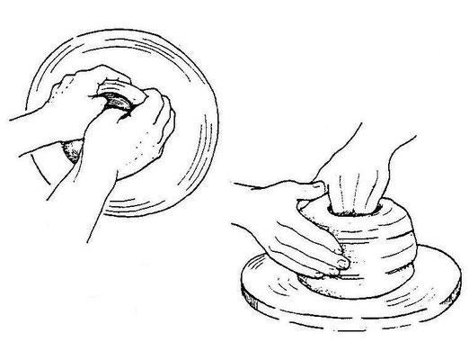 La lavorazione della ceramica di Deruta: oggi come ieri