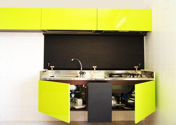 Kitch&T : la cucina che scompare! SCHIUMA DESIGN POST DESIGN