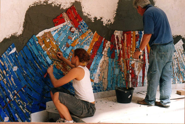 Mosaico (work in progress). Giorgia Palombi