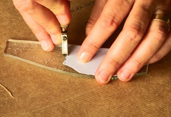 6. Il taglio e svrapposizione dei vetri. Beatrice Morello