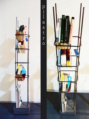 Pilastro, la libreria di SCHIUMA DESIGN POST DESIGN