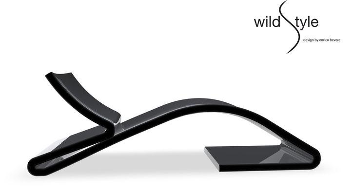 WILDESTYLE, poltrona di Enrico Bevere. Poliarte.  Salone del Mobile 2011, Satellite