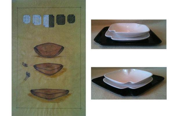 VINCE LA SEZ. PROGETTAZIONE A MATERIE 2012: Armonia, il set di piatti di Luisa Chimenz