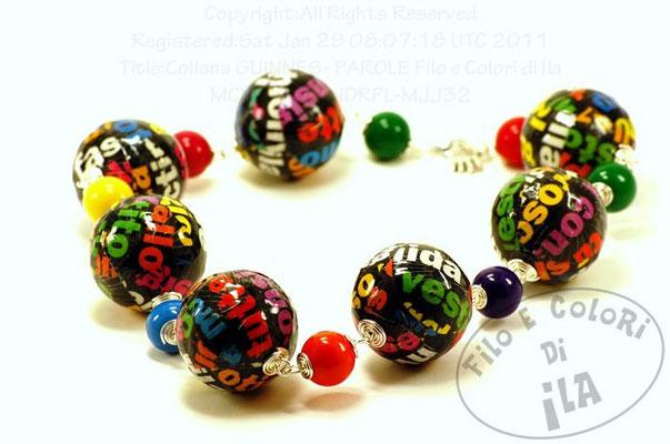 Filo e Colori di Ila. ILARIA ANSELMI bijoux pop style
