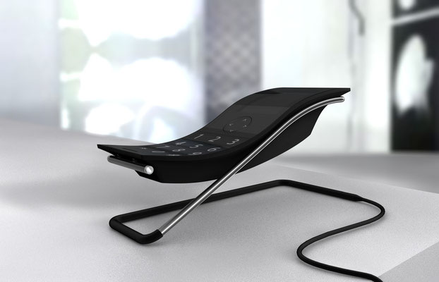 cordless TWIST di Riccardo Mei. Poliarte.  Salone del Mobile 2011, Satellite