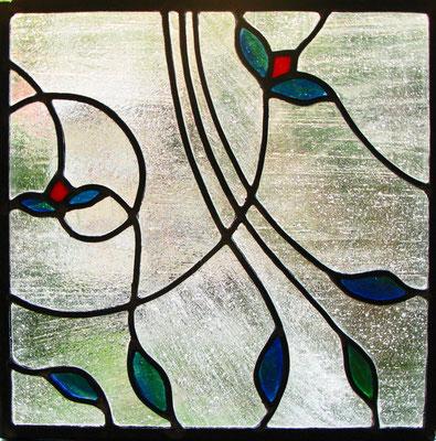 12. Vetrata Artistica terminata. Beatrice Morello