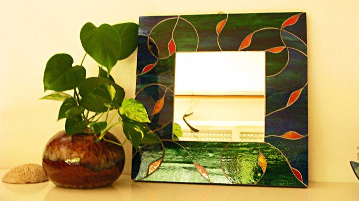 Il vetro diventa Mosaico. Oggetto finito di Beatrice Morello.