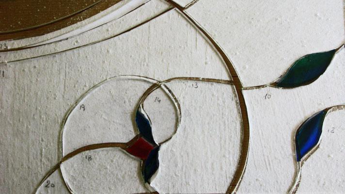 4. Il taglio e svrapposizione dei vetri. Beatrice Morello