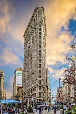 Das Flatiron Building - NYC
