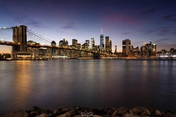 NYC Skyline, es war ein fantastischer Abend