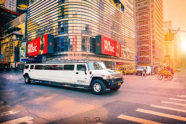 Auf dem Weg, Richtung Times Square in New York City