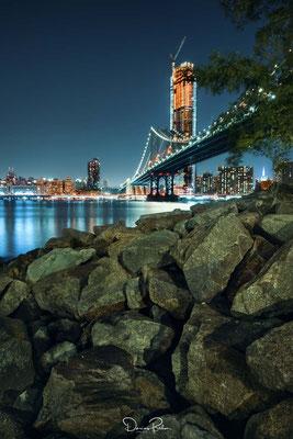 NYC - Sicht auf die Manhattan Bridge