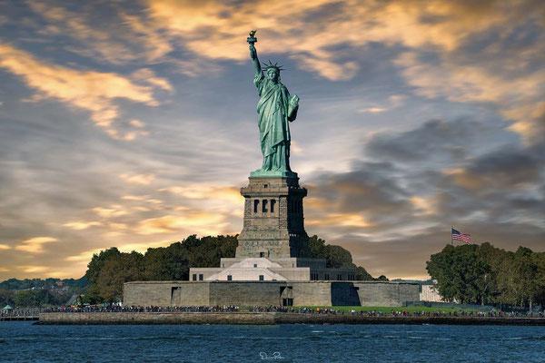 Statue of Liberty - Die Freiheitsstatue seit 1984 als Weltkulturerbe der UNESCO