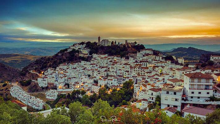 Casares Andalusien, Spanien
