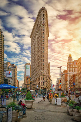 Das Flatiron Building - New York