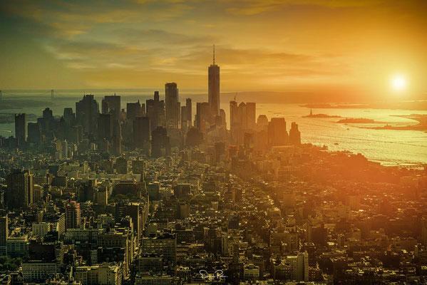 über den Dächern bei Sunset NYC